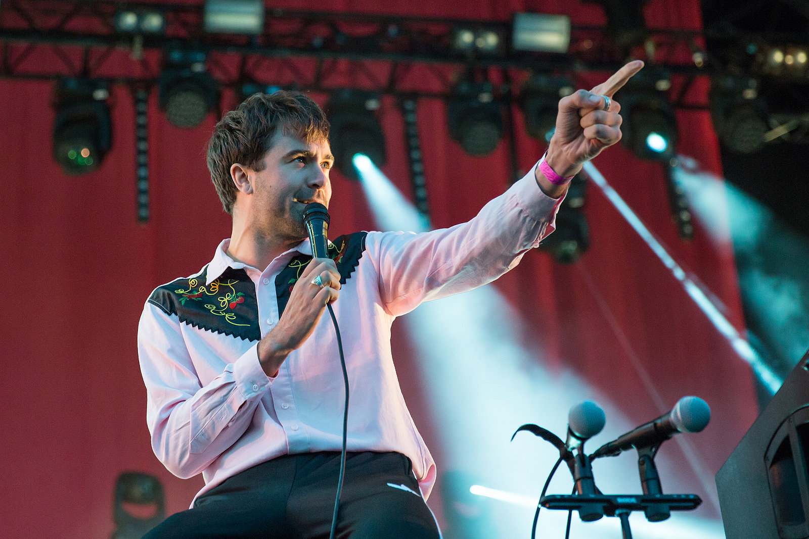 Justin Haywood-Young - The Vaccines - Truck Festival