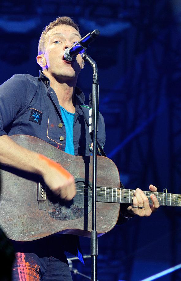 Coldplay  @ Manchester Etihad Stadium 2012