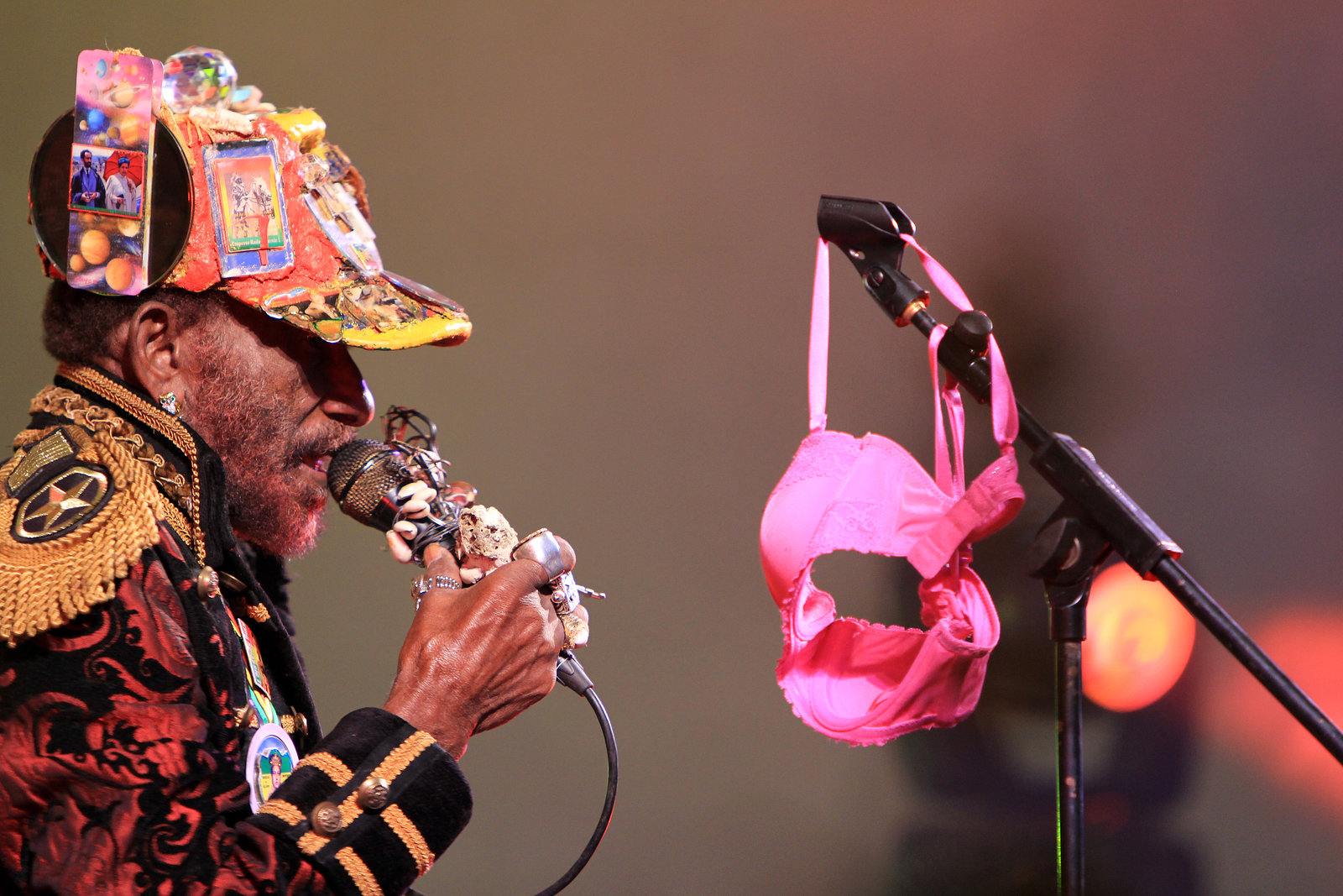 Lee Scratch Perry- Beat-Herder 2012