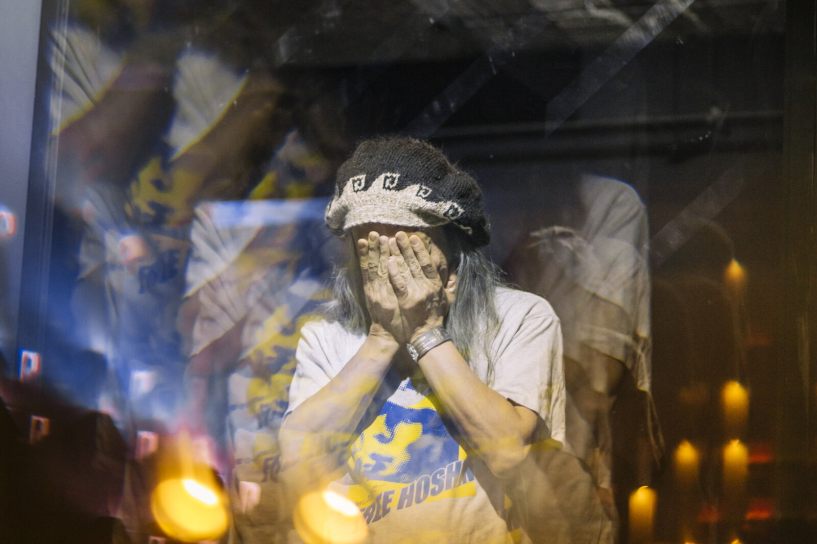 Damo Suzuki @ Mexico -  May 18 2019. Photo by  David Barajas