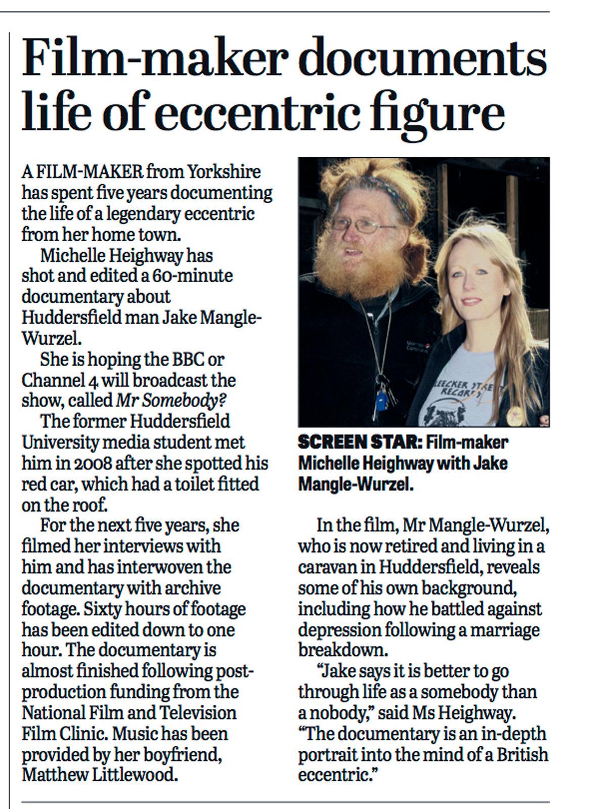 Regional News - Yorkshire Post 2014