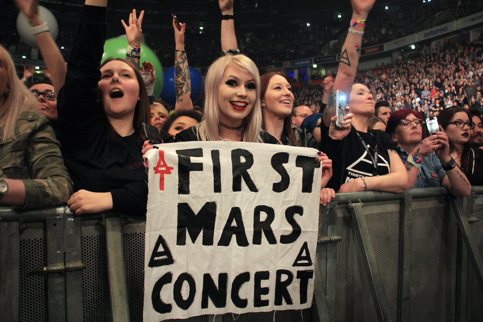 Thirty Seconds to Mars , Crowd,  24 March, Manchester 2018