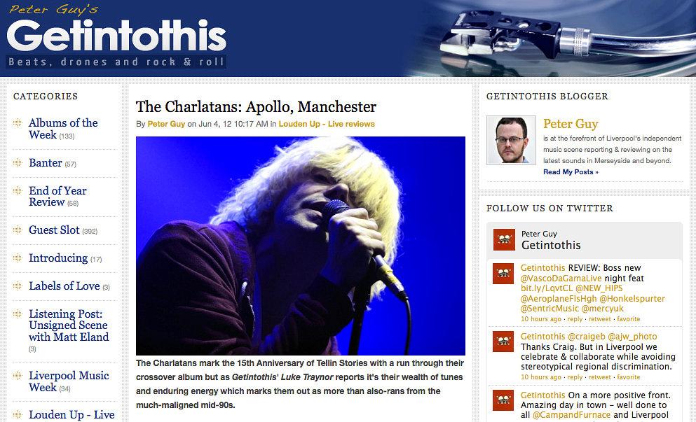 Charlatans -  Liverpool Echo