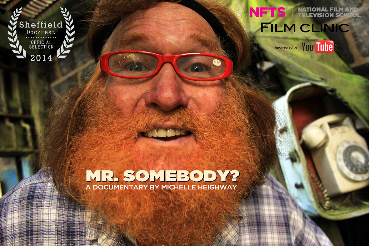 Mr. Somebody? Poster-Premiere @ Sheffield Doc/Fest
