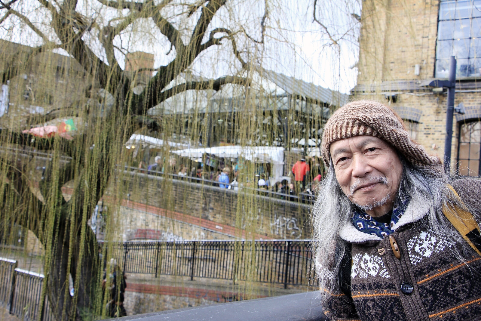 Damo Suzuki on Tour / London / Camden -Feb 2020