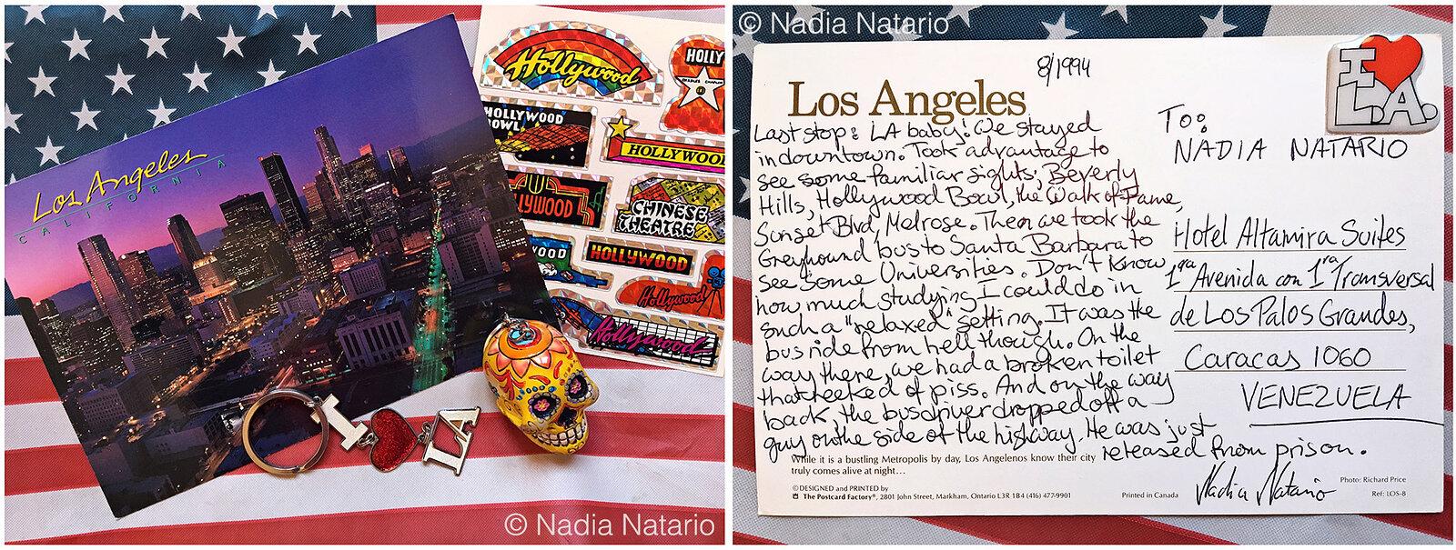 Postcards to Myself - Los Angeles, U.S.A, 1994