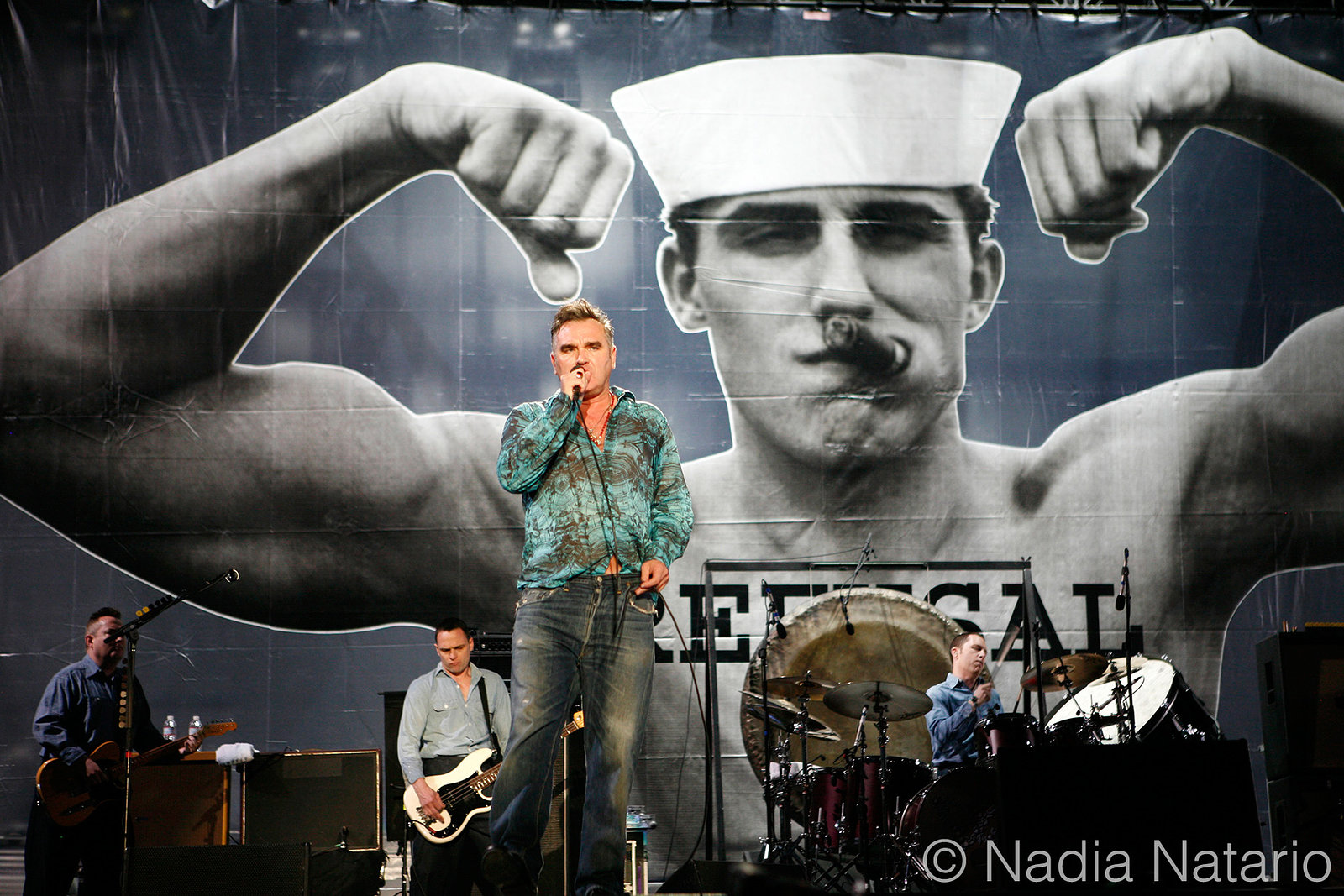 Morrissey at Coachella 2009