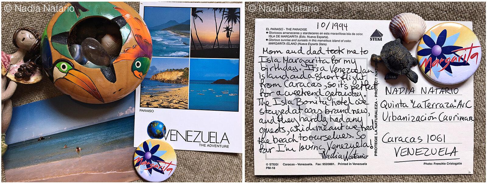 Postcards to Myself - Isla Margarita, Venezuela 1994