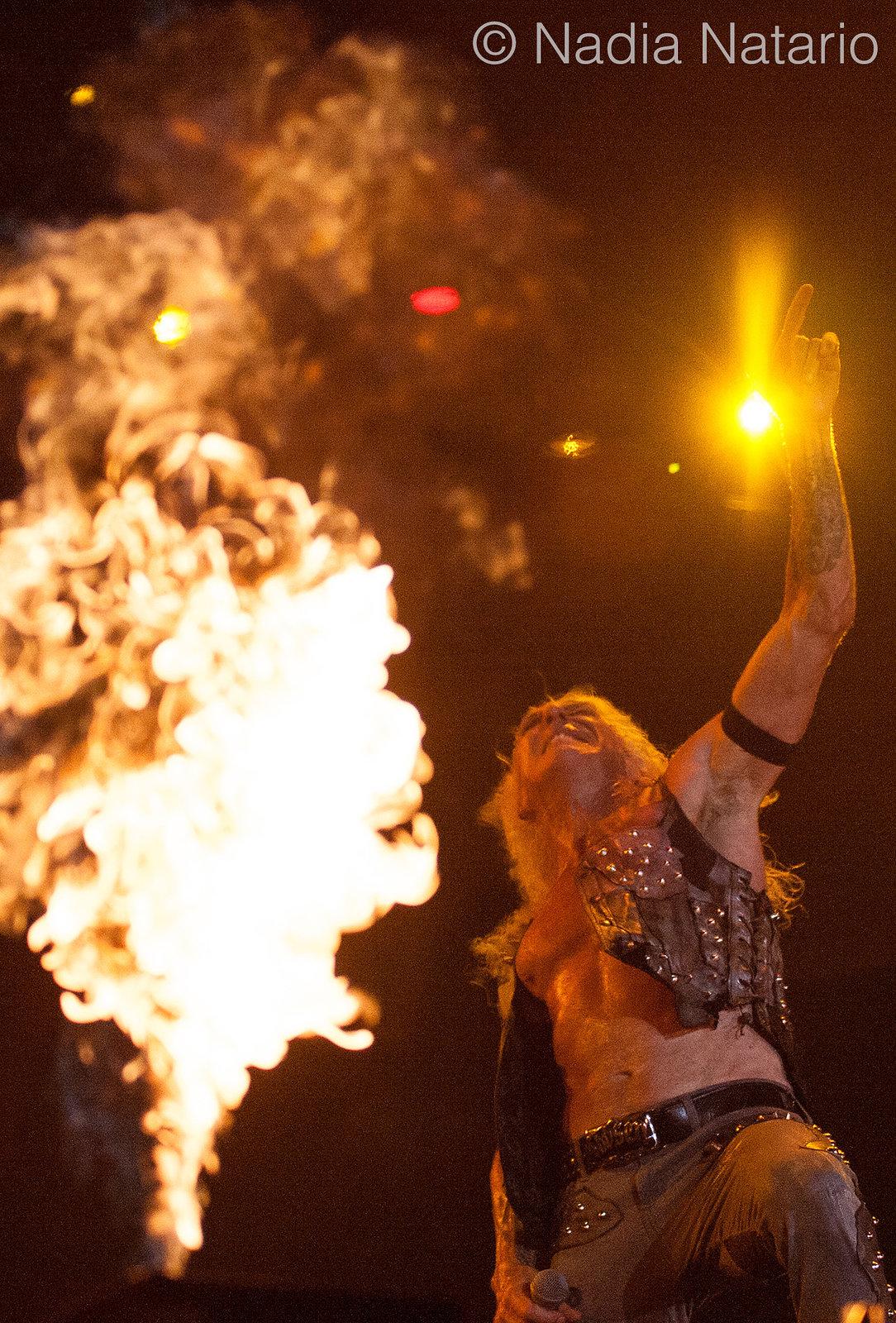 Twisted Sister at Rock Fest Barcelona 2016