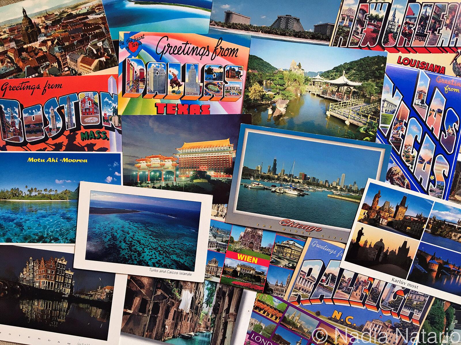 Postcards to Myself - 1983 to 1996