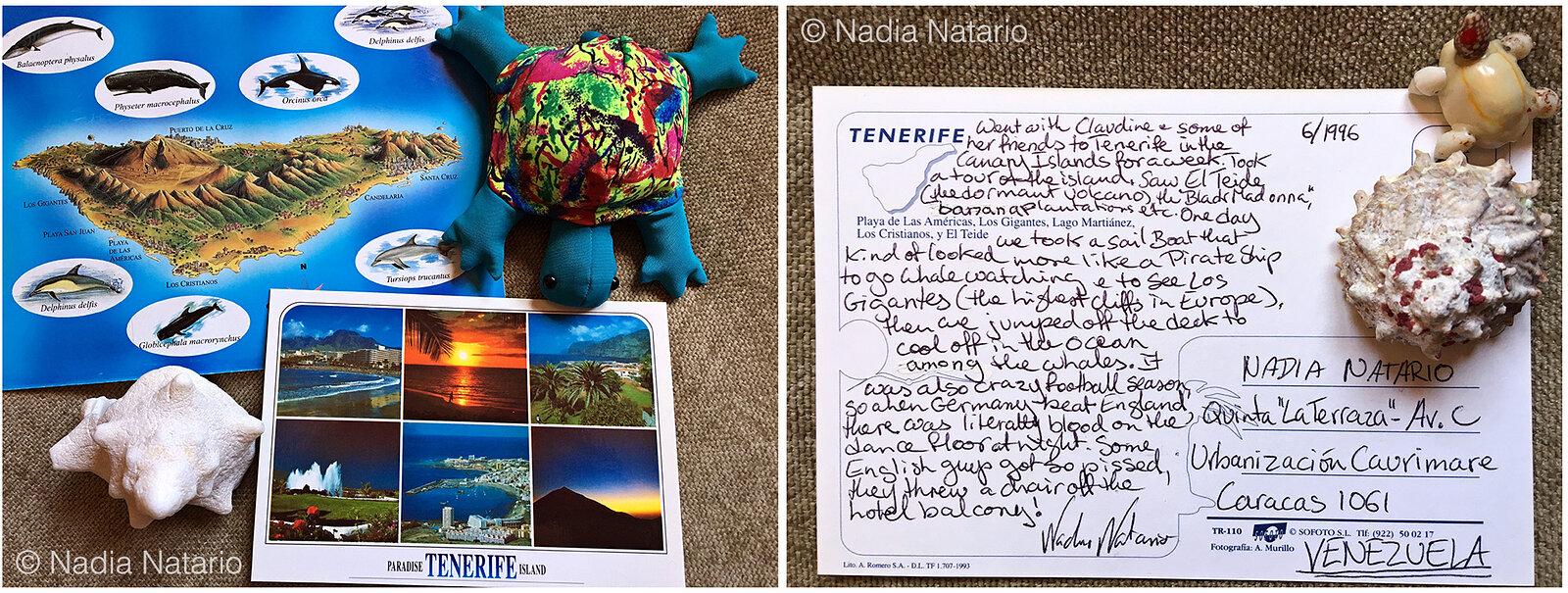 Postcards to Myself - Tenerife, Canary Islands, 1996