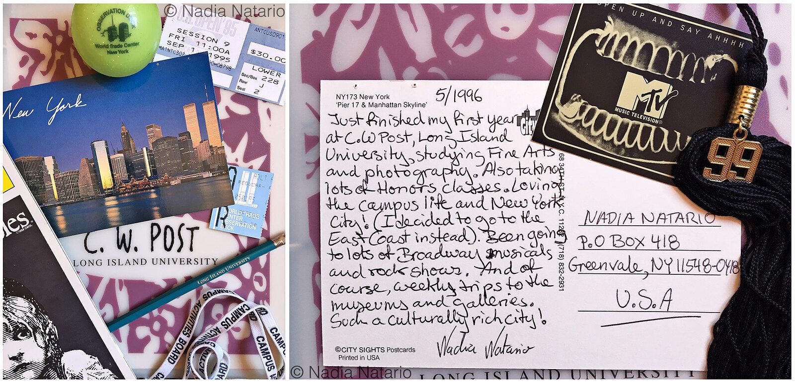 Postcards to Myself - New York, U.S.A, 1996