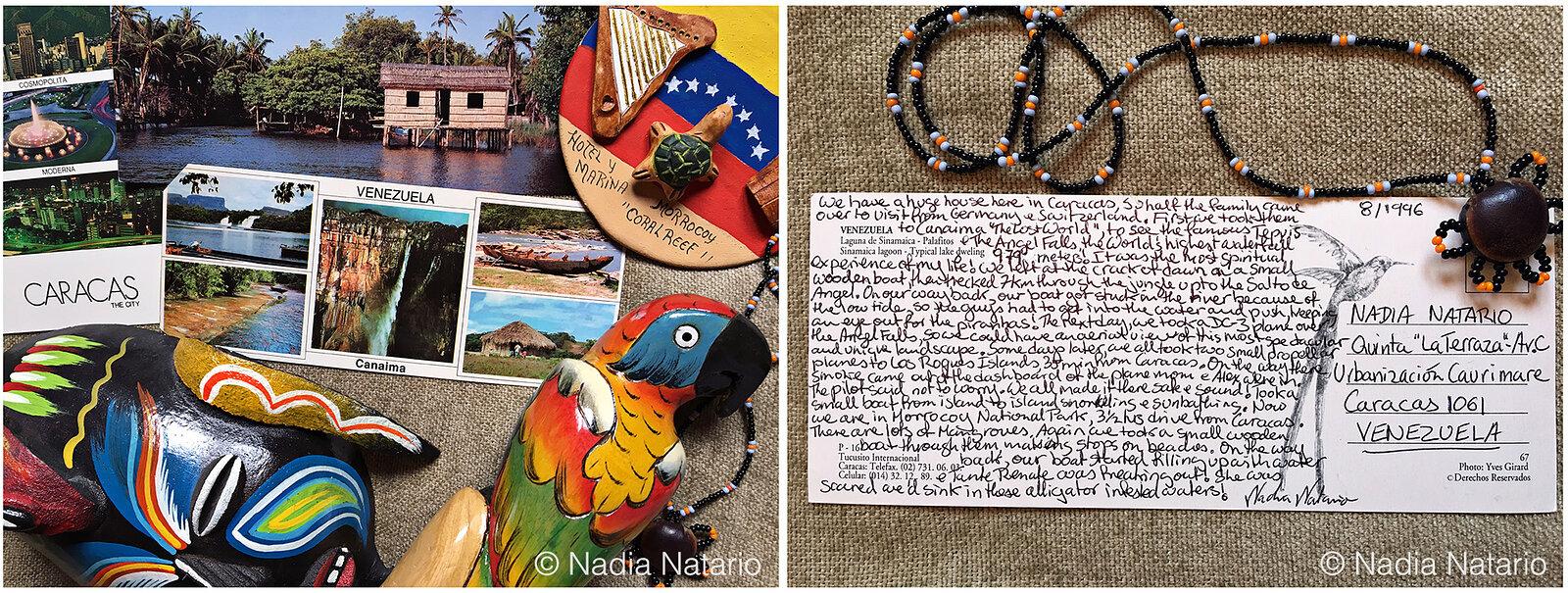 Postcards to Myself - Canaima, Venezuela 1996