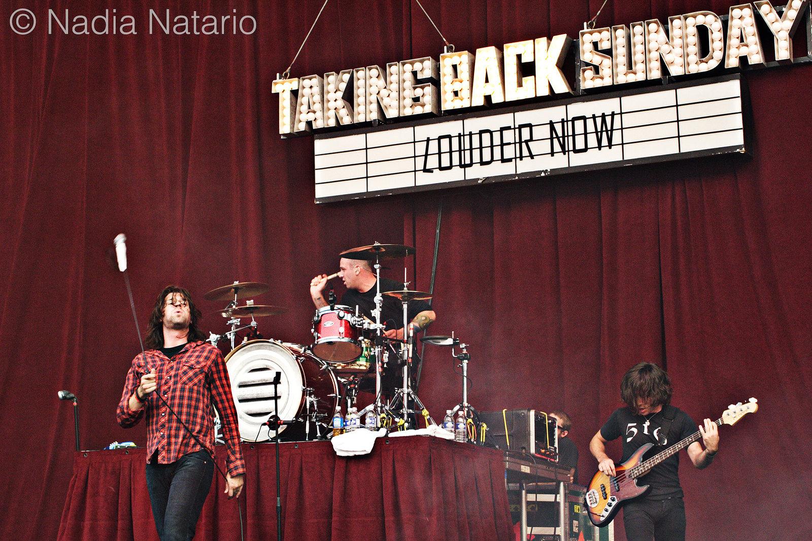 Taking Back Sunday at Projekt Revolution 2007