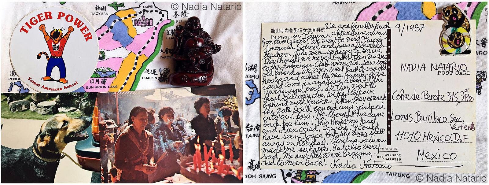 Postcards to Myself - Taipei, Taiwan, 1987