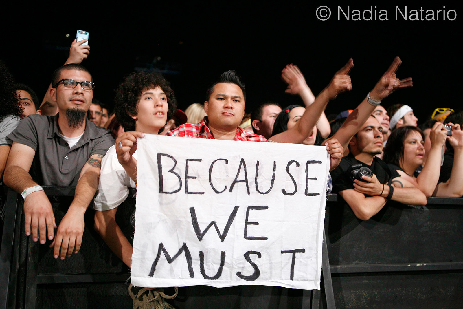 Morrissey Fans at Coachella 2009