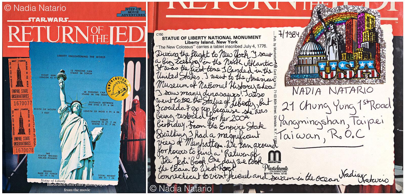 Postcards to Myself - New York, U.S.A, 1984