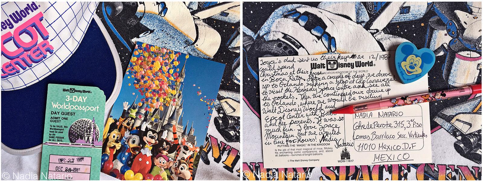 Postcards to Myself - Orlando, U.S.A, 1987
