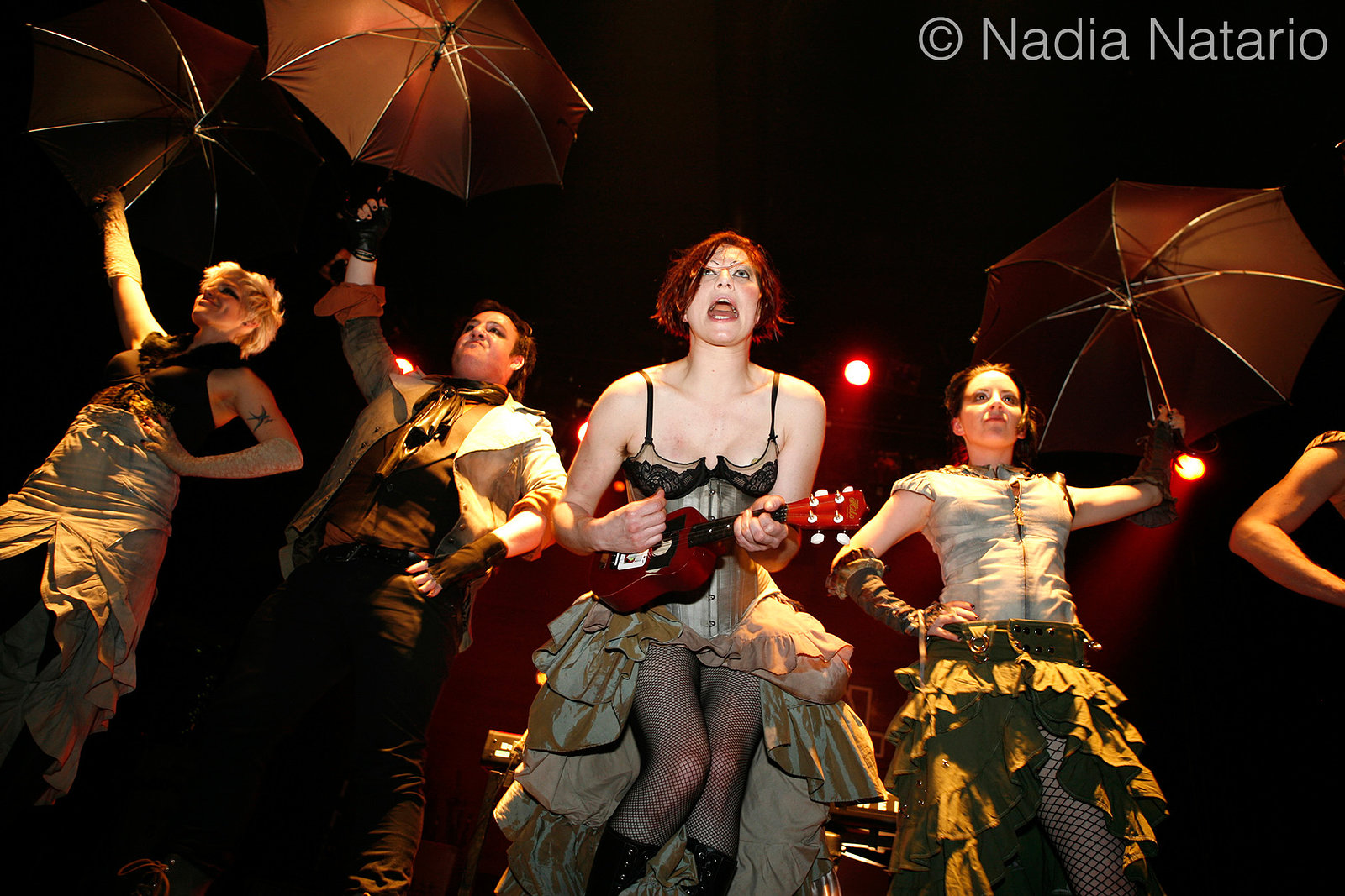Amanda Palmer & The Danger Ensemble at Caracol
