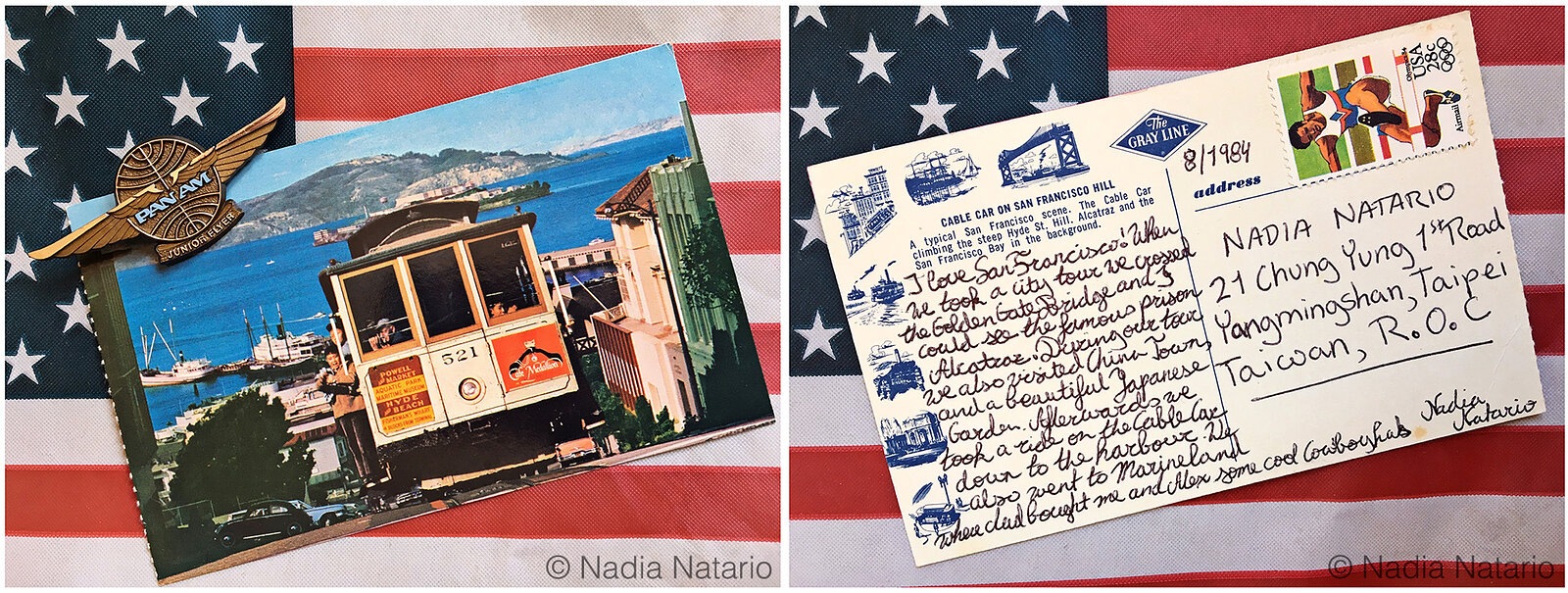 Postcards to Myself - San Francisco, U.S.A, 1984