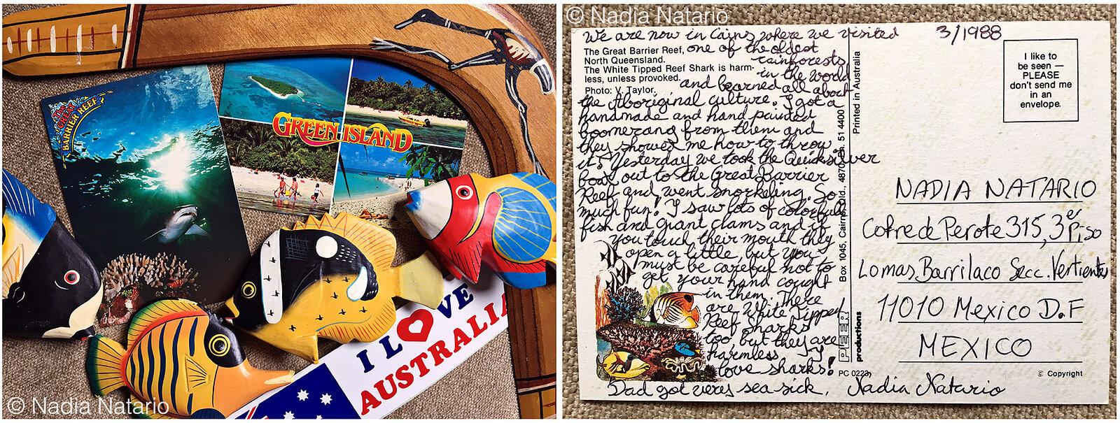 Postcards to Myself - Cairns, Australia, 1988