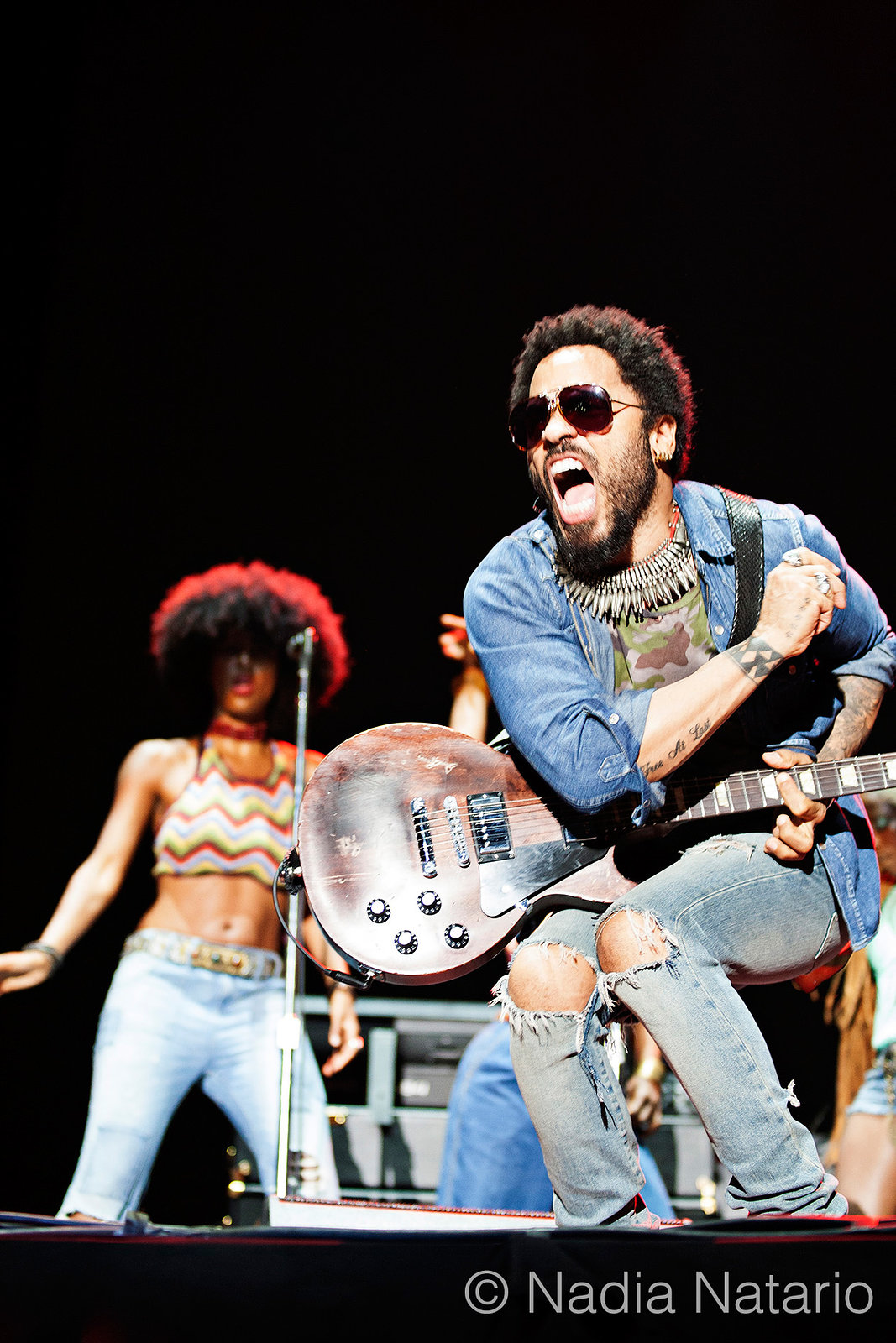 Lenny Kravitz at Hard Rock Rising Barcelona 2015