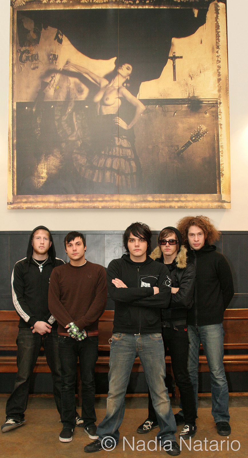 My Chemical Romance on their last European date of their 'Three Cheers Tour', Barcelona 2005