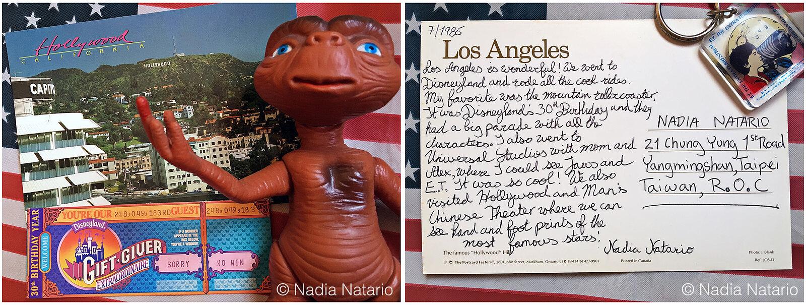 Postcards to Myself - Los Angeles, U.S.A, 1985
