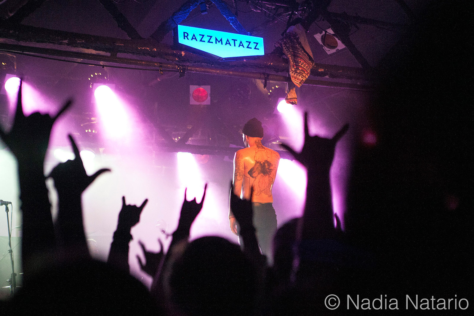 Letlive at Razzmatazz 2