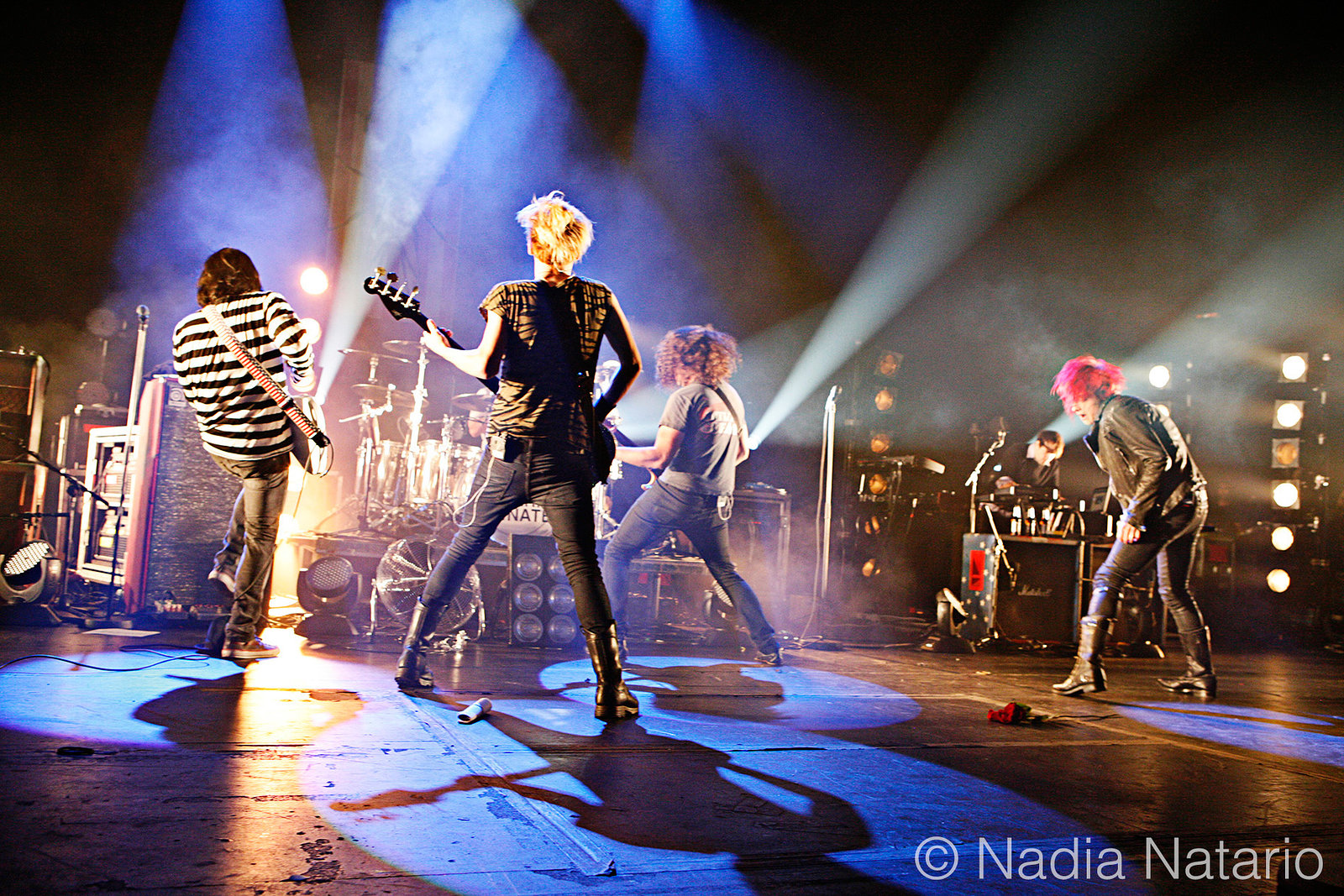 My Chemical Romance on their first date of the 'World Contamination Tour', Hammersmith Apollo 2010