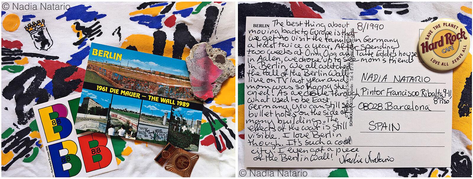 Postcards to Myself - Berlin, Germany, 1990