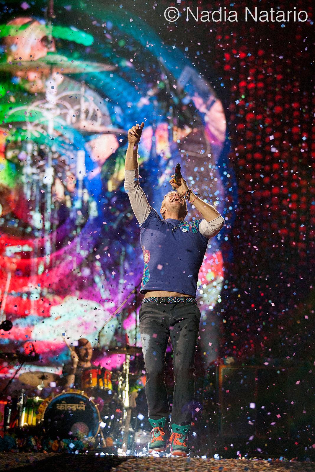 Coldplay at Olimpic Stadium