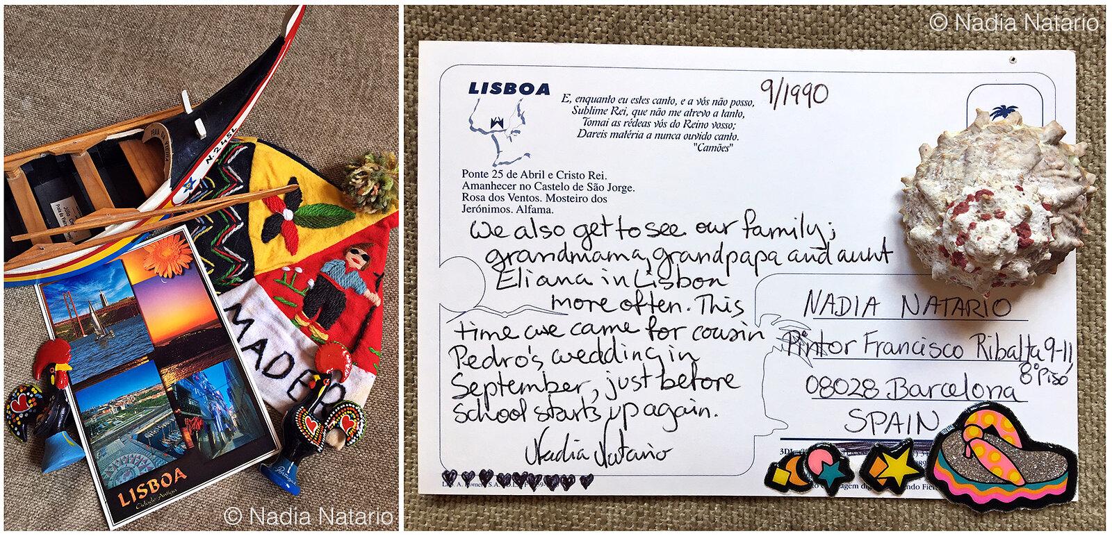 Postcards to Myself - Lisbon, Portugal, 1990