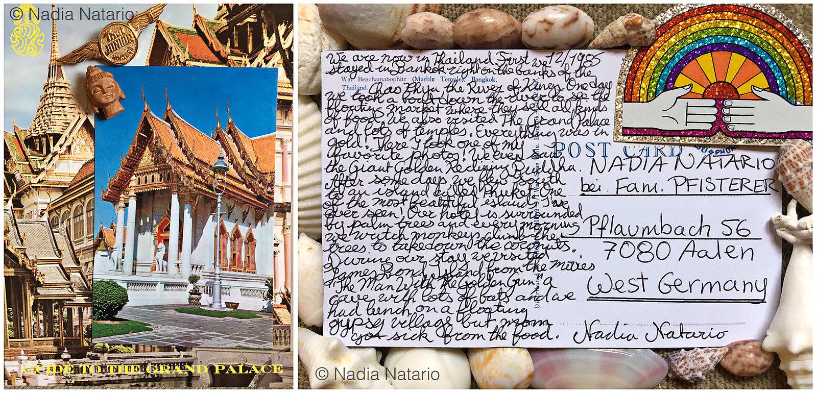 Postcards to Myself - Tailand, 1985