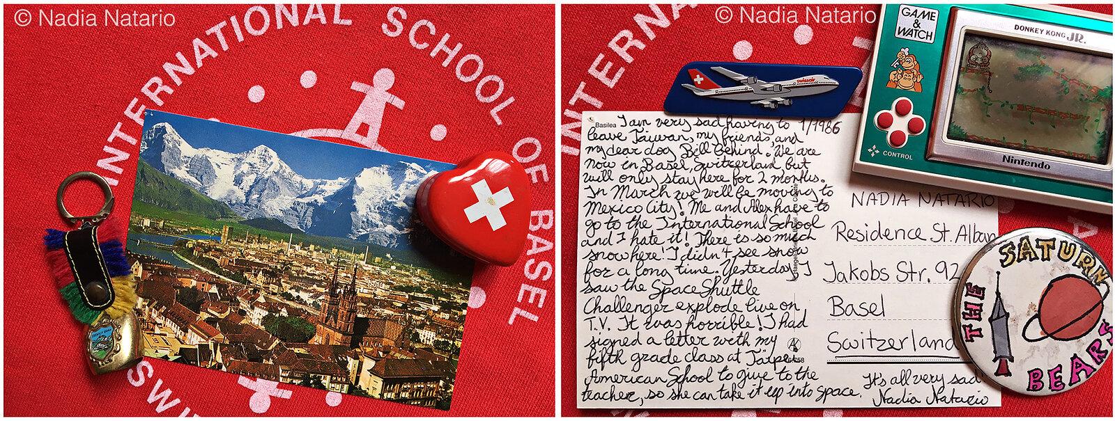 Postcards to Myself - Basel, Switzerland, 1986