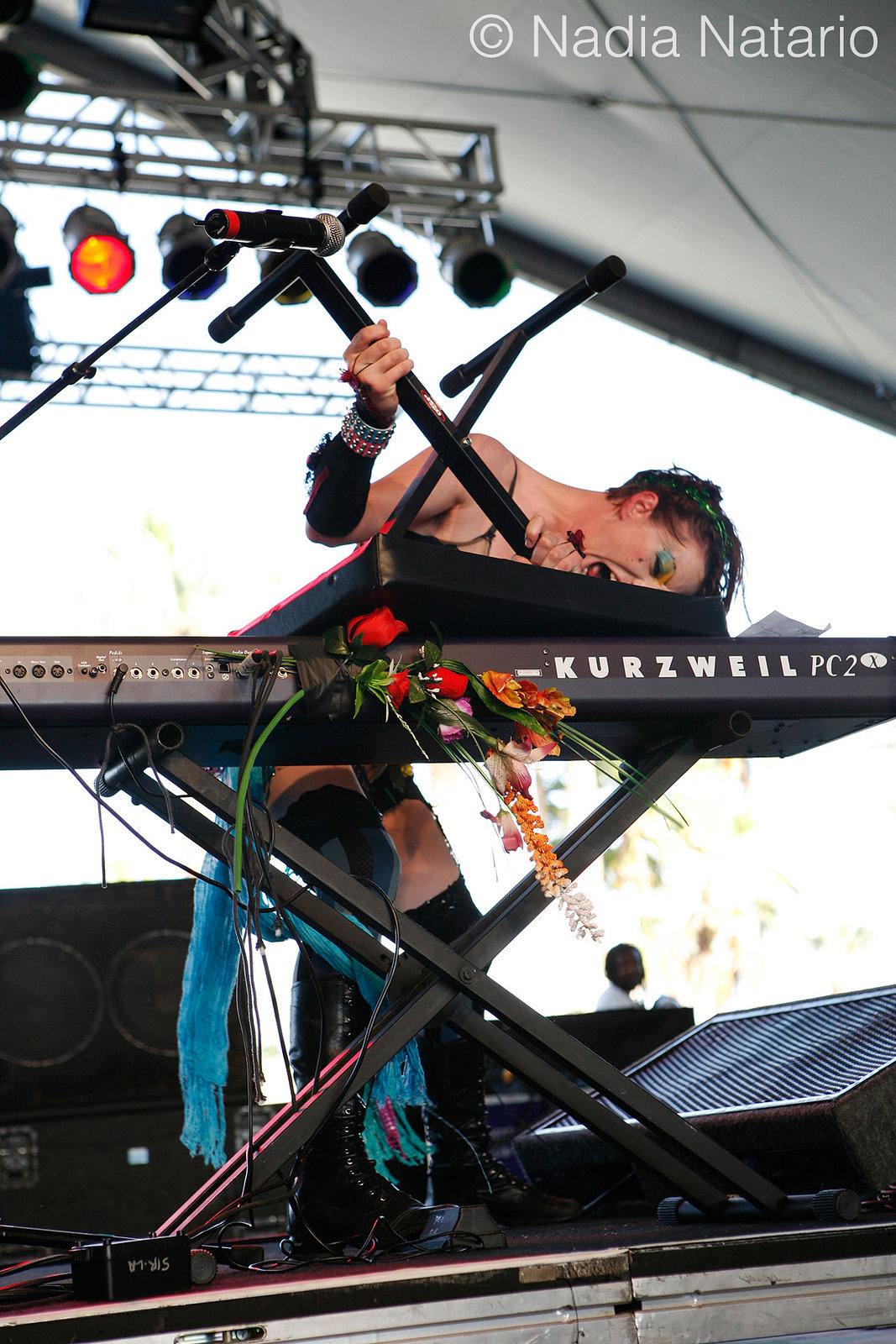 Amanda Palmer at Coachella 2009