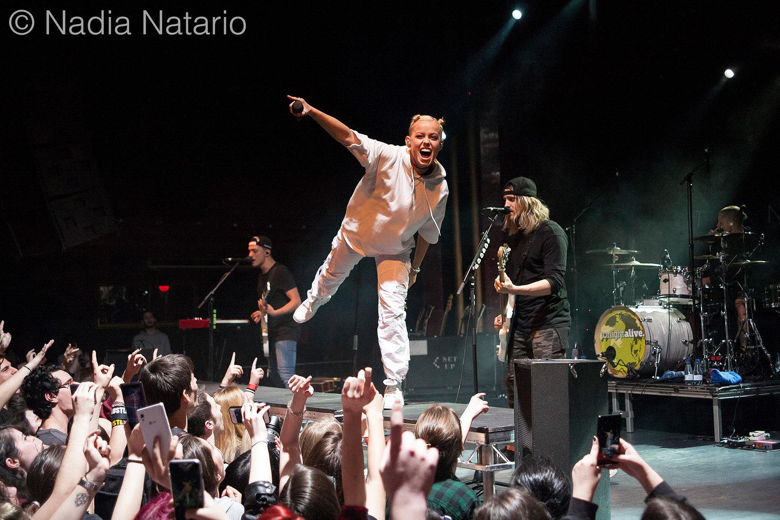 Tonight Alive at Sala Apolo