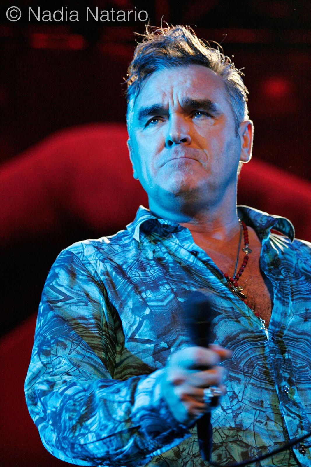 Morrissey at Coachella 2009