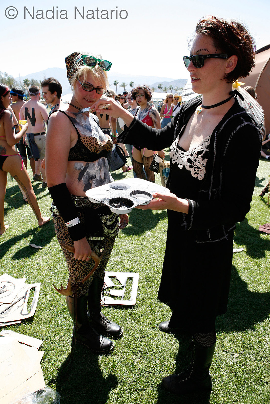 Amanda Palmer at Coachella 2009