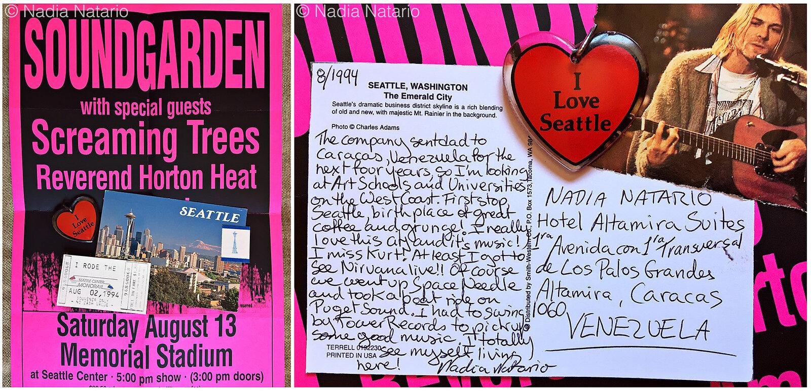 Postcards to Myself - Seattle, U.S.A, 1994