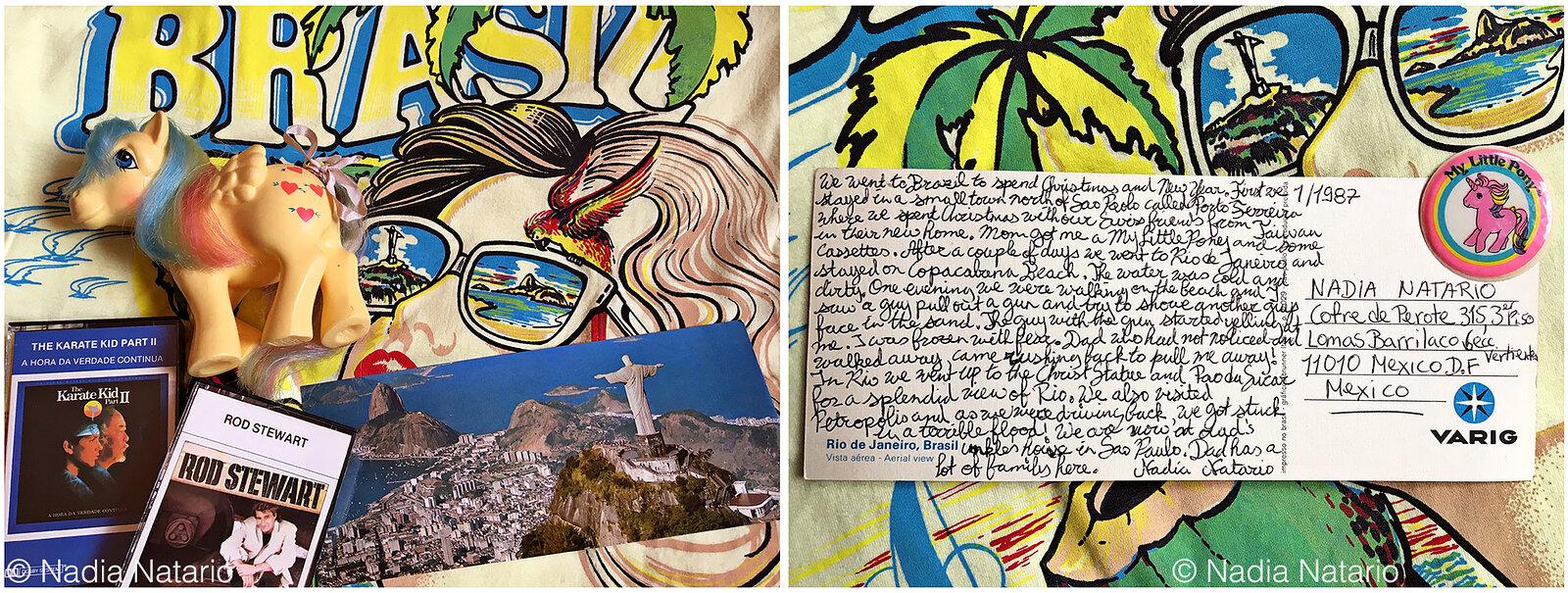 Postcards to Myself - Brazil, 1987