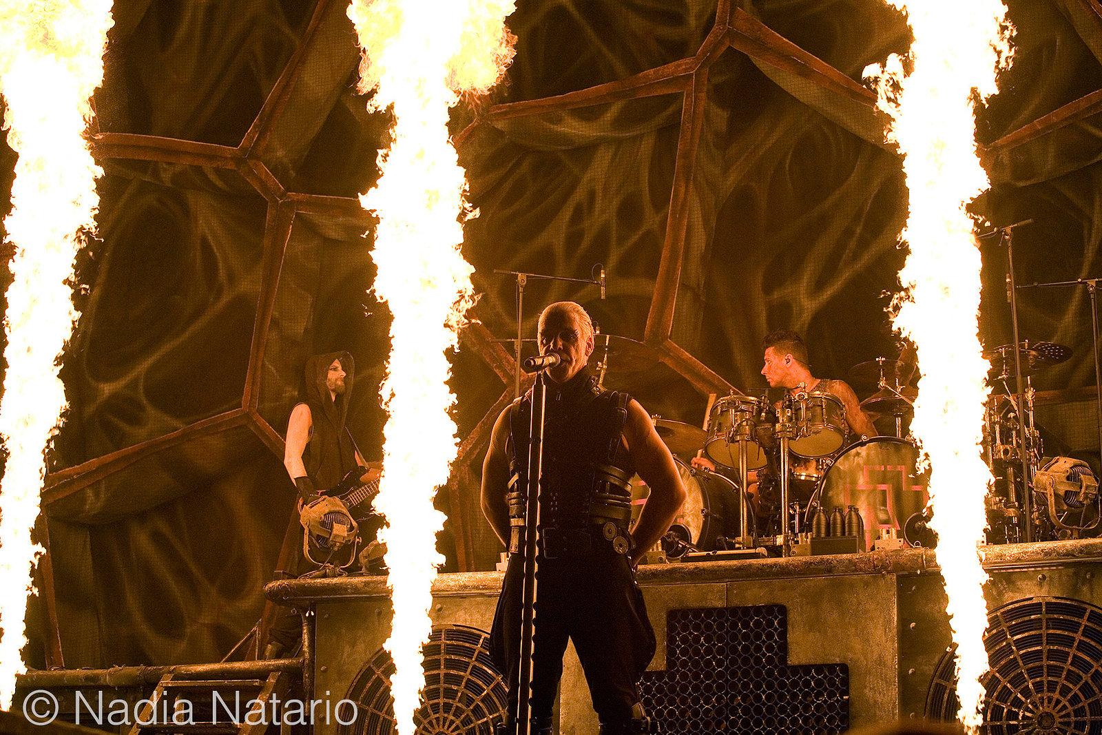 Rammstein at Palau Sant Jordi