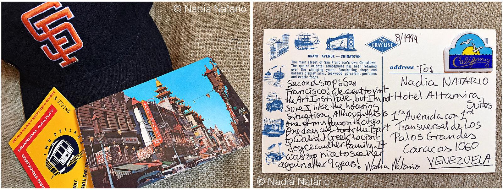 Postcards to Myself - San Francisco, U.S.A, 1994