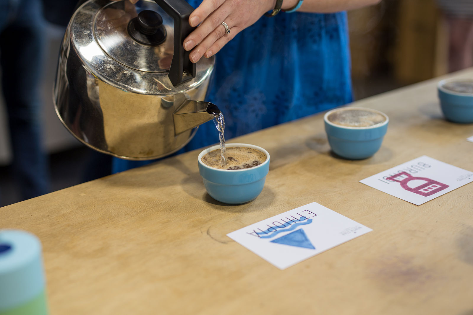 Leeds Indie Food Gallery Coffee Cupping North Star