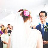 Jane & Edouard's wedding photography at Mile End Ecology Pavilion