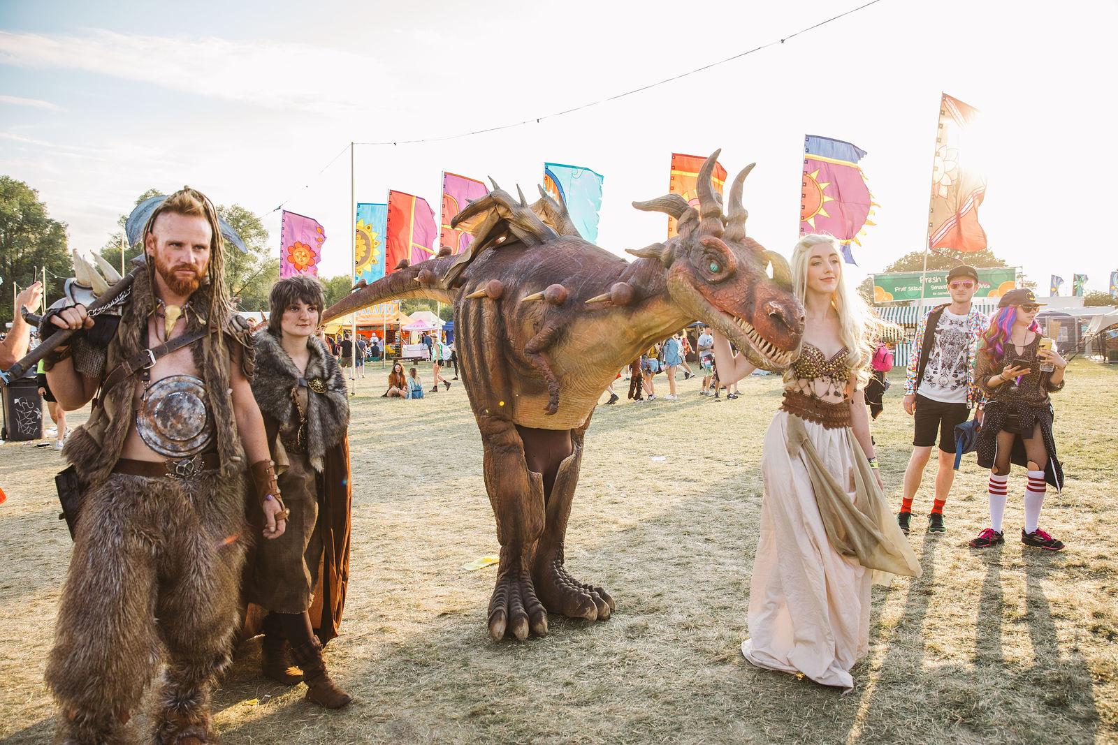 Khaleesi and the Dragon