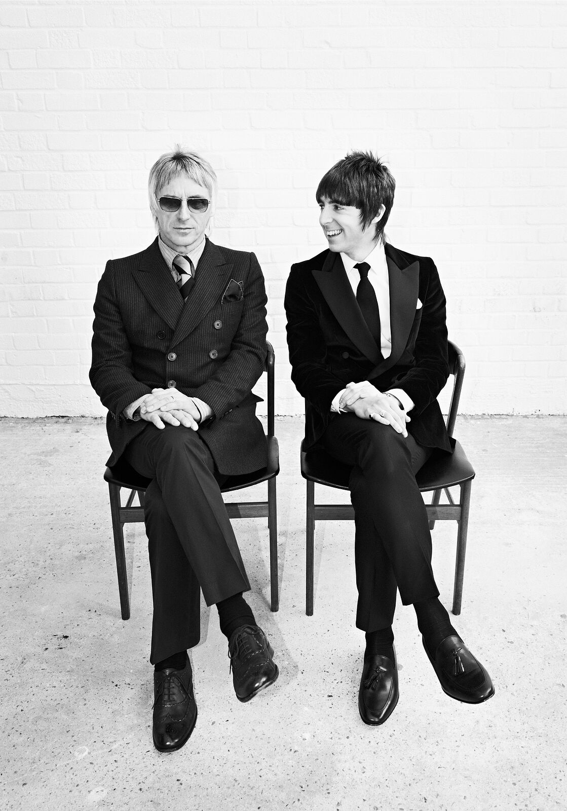 Paul Weller & Miles Kane Limited Edition Fine Art Print