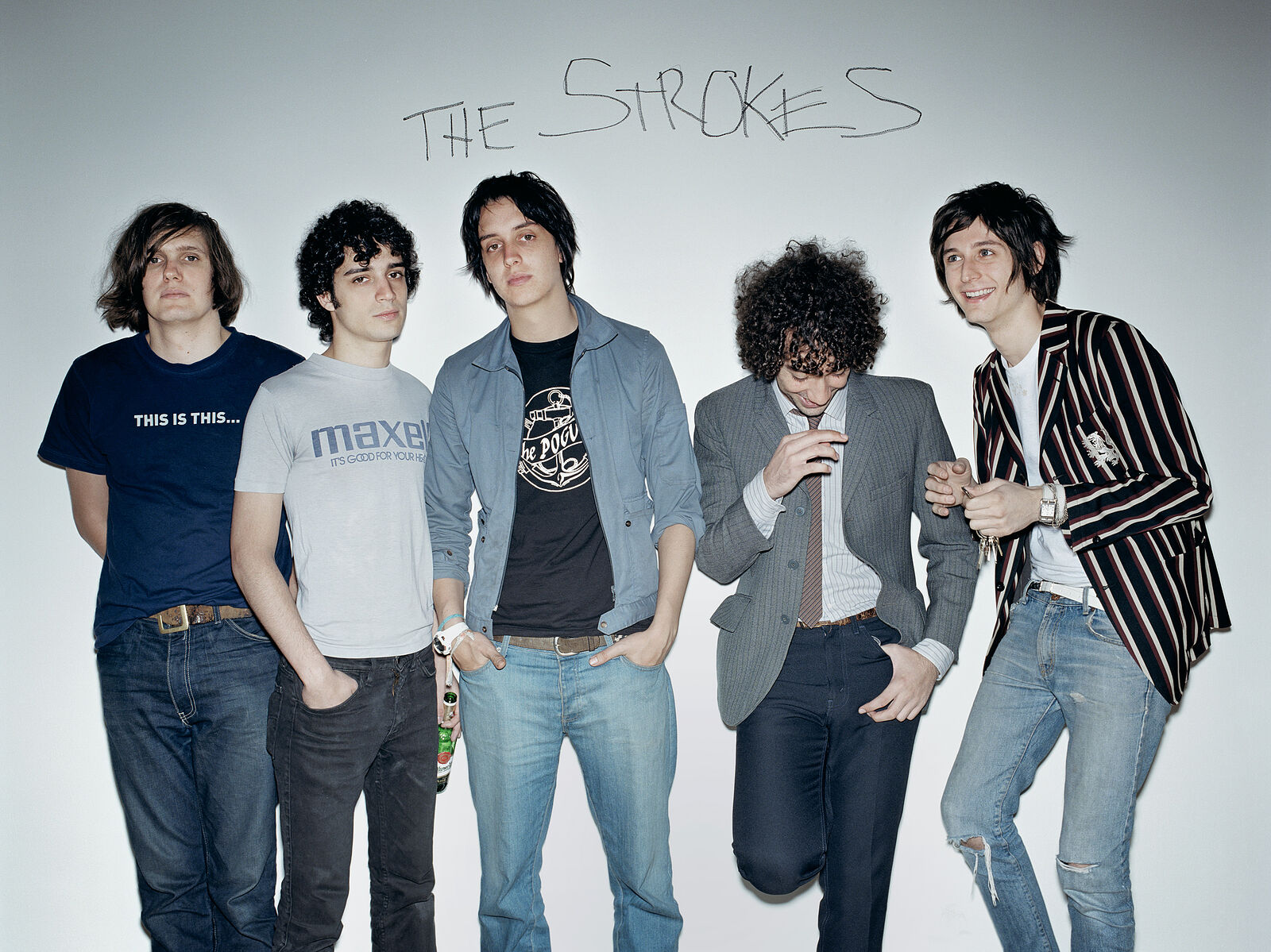 The Strokes Limited Edition Fine Art Print