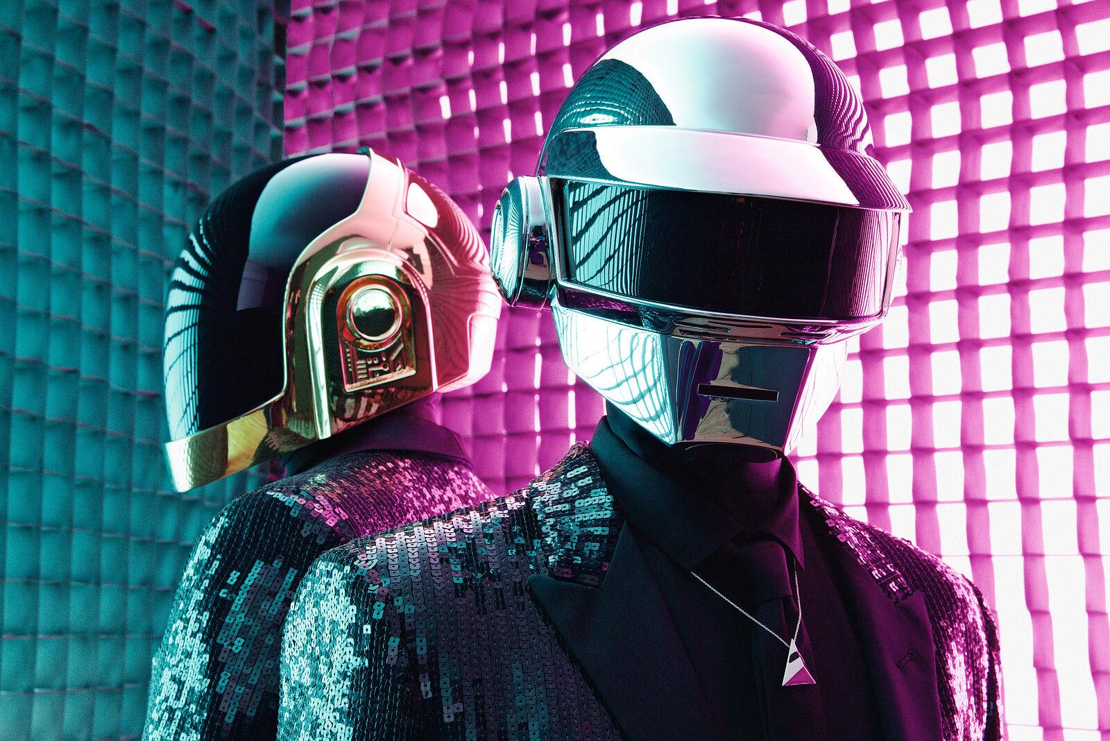 Daft Punk: Limited Edition Fine Art Print
