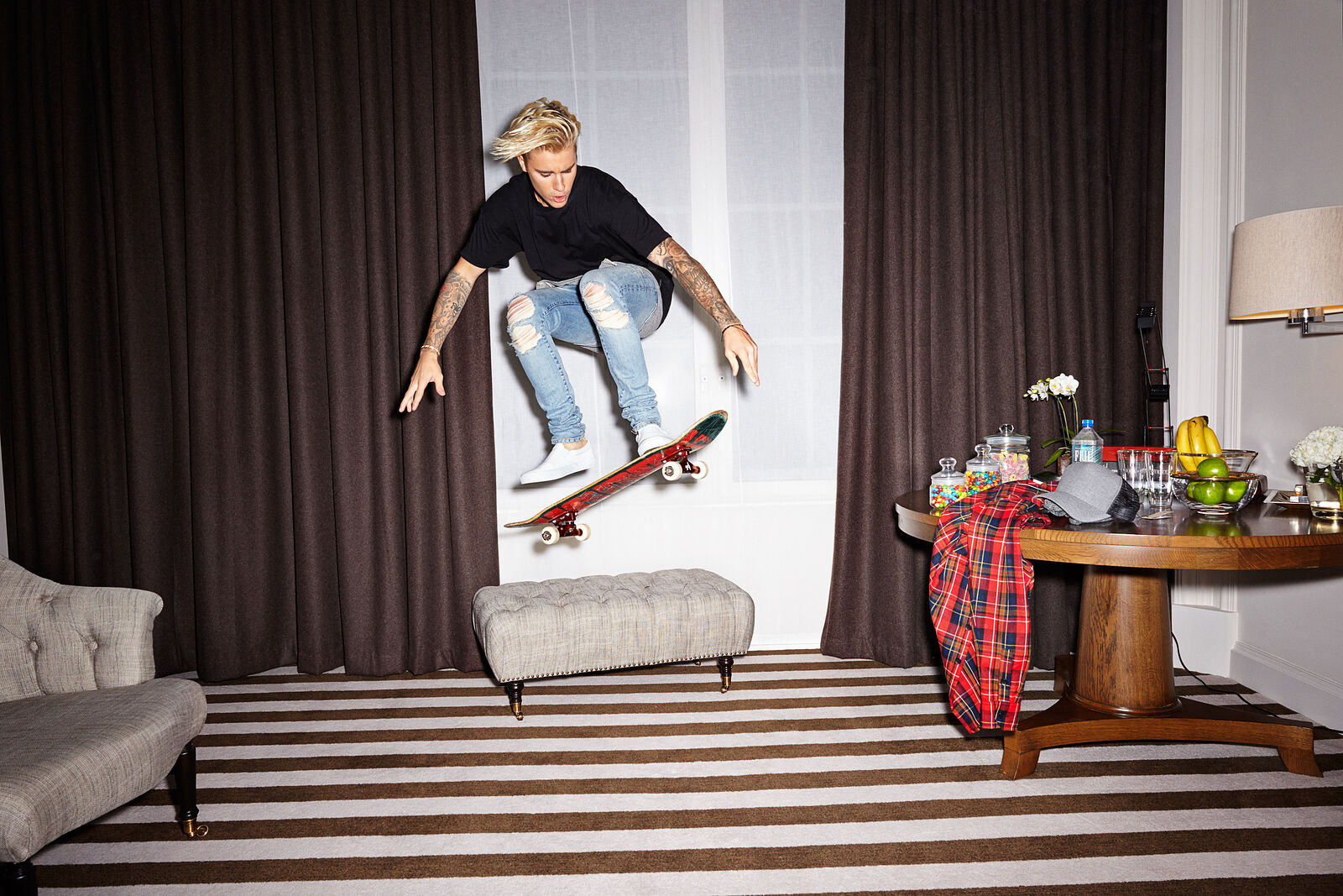 Justin Bieber : Skater